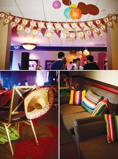 Chá-bar fiesta mexicana