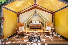 23 Best Glamping in California (2021) 29 Glamping California, California Travel, Northern California, Luxury Tents, Luxury Camping, Outdoor Yoga, Outdoor Seating, Outdoor Spaces, Fire Pit And Barbecue