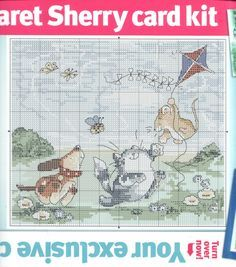 Gallery.ru / Фото #84 - Cross Stitch Crazy 163 май 2012+Margaret Sherry bonus chart - tymannost
