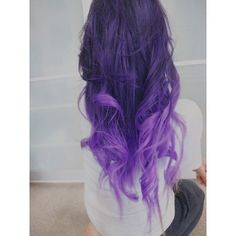 """22"""", Ombre Hair Extensions//DipDye//Dark Brown Hair with dark to light... ($220) ❤ liked on Polyvore"""