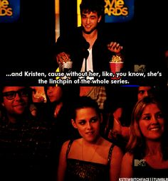 He is so proud of her!