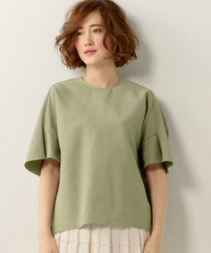 <SACRA(サクラ)>フレアスリーブ プルオーバー16SS†(シャツ/ブラウス)|SACRA(サクラ)のファッション通販 - ZOZOTOWN