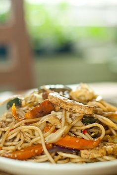 Mindennapi ételeink: Thai zöldséges tészta