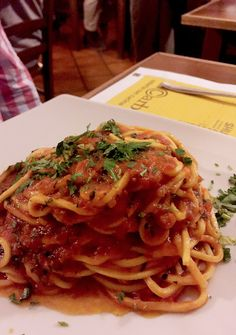 Amatriciana in Rome - Eat Local in Rome