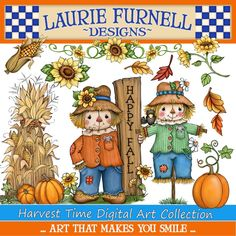 Autumn Clip Art Fall Clip Art Laurie Furnell Harvest Clip | Etsy 3d Collage, Collage Sheet, Clipart Baby, Illustrations, Graphic Illustration, Autumn Illustration, Buffalo Plaid, Digital Stamps, Jars