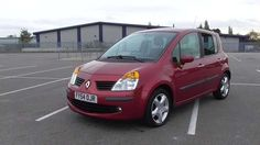Used 2004 (54 reg) Red Renault Modus 1.5 dCi 80 Dynamique 5dr [AC] for sale on RAC Cars
