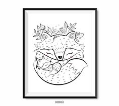fox mum and child best mom ever mother's day print by shooshles #loveyoumum #mothersdaygift #mothersdayprint #blackink #ink #printableart #cute #giftidea  #doodle#giftformum #mumcard #loveyoumum #happymothersday #loveyou #artwork #etsy #etsyshop #love #motherprint #momcard #mothersdaycard #digitalprint #iloveyoumummy #cute  #heart #warming #queen #plants #fox #cutefox