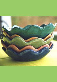 r. wood  pottery