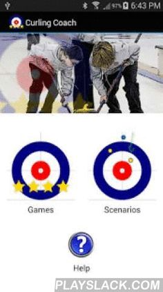 Curling Coach (Trial Version)  Android App - playslack.com ,  Curling Coach is a handy app that helps coaches score curling games and diagram scenarios. Curling Coach tracks and reports shooting percentages, game scores and efficiencies (hammer, force, steal and steal defence). Shooting percentages are listed for hits and draws, in-turns and out-turns. Individual and team stats are reported. Games can be scored for just your team or for both teams.Game scenarios can be diagrammed and linked…