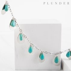 Plunder Jewelry, Plunder Design, Jewelry Party, Vintage Inspired, Turquoise Necklace, Bling, Silver, Jewel, Money