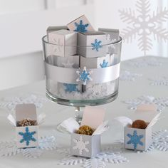 Display small, sweet gifts in our Trifle Bowl.