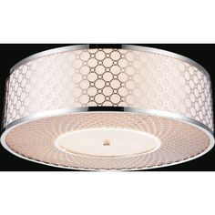 CrystalWorld 5 Light Flush Mount & Reviews | Wayfair