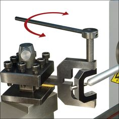 Radius Turning Tool cuts a ball-shaped end or turns a radius on the end of a workpiece.
