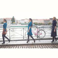 Arcolor streets fashion show in the center of Prague #arcolor #arcolorfestival #fashionshow #subway #prague #fashionfestival #janaminarikova #catwalk