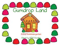 Free- math game.  Roll a die and move along the gumdrop path.