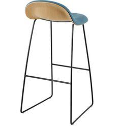 Gubi 32 Barstool - Front Upholstered - modern - Bar Stools And Counter Stools - Los Angeles - Danish Design Store