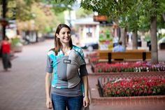 Ocean Boba Wrap. Want. I may be a baby carrier addict