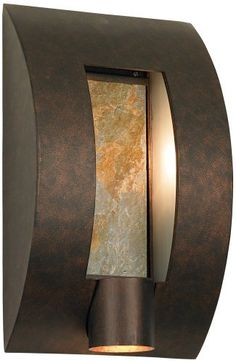 Framed Slate Bronze ADA Compliant High Wall Light -takes two 40 watt, includes a halogen. 10 wide, extends Looks cool, but light shines down Led Wall Sconce, Outdoor Wall Sconce, Outdoor Walls, Outdoor Lighting, Indoor Outdoor, Outdoor Decor, Outdoor Wall Light Fixtures, Wall Fixtures, Exterior Wall Light