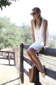 An #Express shirt dress is perfect for summer.  As featured on the blog Damsel In Dior.  GET IT HERE: http://www.express.com/clothing/sleeveless+belted+shirt+dress/pro/7841197/cat550001?CID=4016