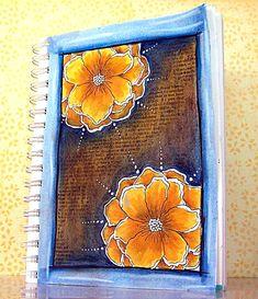 beautiful journal art