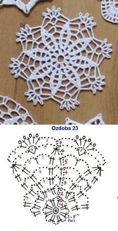 Transcendent Crochet a Solid Granny Square Ideas. Inconceivable Crochet a Solid Granny Square Ideas. Crochet Snowflake Pattern, Crochet Coaster Pattern, Crochet Motif Patterns, Crochet Snowflakes, Crochet Mandala, Crochet Diagram, Crochet Chart, Thread Crochet, Crochet Stitches