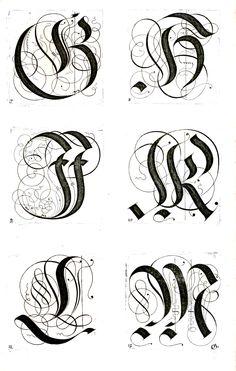 Kunstrichtige Schreibart : allerhand Versalie[n] oder AnfangsBuchstabe[n] der teütschen, lateinischen und italianischen Schrifften aus unterschiedlichen Meistern der edlen Schreibkunst zusammen getragen (1655)
