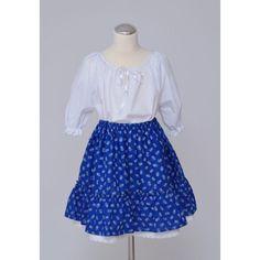 Kislány ruha együttes bodros szoknyával Skirts, Fashion, Moda, Fashion Styles, Skirt, Fashion Illustrations, Gowns, Skirt Outfits