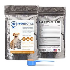 Pawbiotics Pet Probiotics and Enzymes with Prebiotics a Natural Supplement for Dogs and Cats 4 oz >>> Continue to the product at the image link.(This is an Amazon affiliate link)