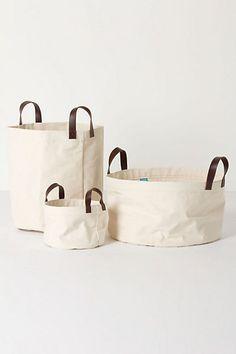 Mountain Peaks Bath Basket - for laundry                              #Anthropologie #PinToWin