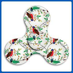 VfIvefi Fidget Tri-Spinner Toys Hand Spinner Birds Tree Stress Reducer For Helps Focus Stress Anxiety Adult Children - Fidget spinner (*Amazon Partner-Link)