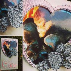 Cleo And Baby  Foto  nel cuore e zampe in String Art. Realizzato da D.C.StringArt  Info contact My email d.c.stringart@gmail.com  #dcstringart  #dog🐕 #dog🐾 #dog❤️ #dog🐶 #dogs #dog #mydog #mydog🐶 #mydogs #mydog❤ #mydog😍 #mydog #mylove #perrosdeinstagram #perrolove #perro🐶 #perro #perros #pets #pet #pet🐶 #mypet #mypet🐶 #mypets  #ilmiocane #ilmiocanebellissimo #zampa