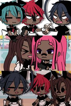 Club Outfits, Girl Outfits, Club Face, Boy Face, Animes Yandere, Maid Dress, Character Outfits, Iphone Wallpaper, Cute