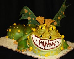 how to train your dragon cake ... I really want this cake