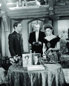 Still of Donna Reed and George Sanders in The Picture of Dorian Gray