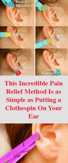 Shiatsu Massage This Incredible Pain Relief Method Is as Simple as Putting a Clothespin On Your Ear - Best Healthy - Hair Growth Home Remedies, Home Remedies For Acne, Selfies, Ear Reflexology, Acupressure, Good Healthy Recipes, Healthy Habits, Diy Beauty, Beauty Hacks