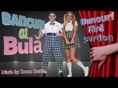 BANCURI CU BULA, BANCURI FARA PERDEA, PART 2 - YouTube Studio, Youtube, Jokes, Studios, Youtubers, Youtube Movies