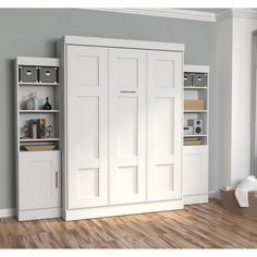 """Figure out more relevant information on """"murphy bed ideas ikea queen size"""". Look at our site. Queen Murphy Bed, Murphy Bed Plans, Bed Storage, Tall Cabinet Storage, Storage Units, Bedroom Storage, Home Design, Studio Design, Murphy-bett Ikea"""