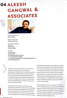 Alkesh Gangwal and Associates state the incorporation of CMC Marble Flooring in their phenomenal project in '50 Amazing Homes In India'. We appreciate Alkesh Gangwal and Associates' generous gesture.