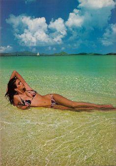 Vogue US, January 1980 Photographer: Francesco Scavullo Model: Gia Carangi