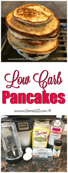 Low Carb Pancakes that are KETO FRIENDLY!!! YES!!!!