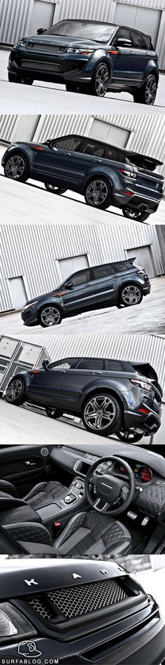 Range Rover Evoque RS250 Kahn Dark Tungsten