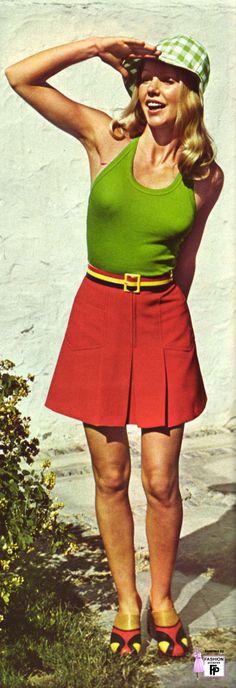 short skirts 1973