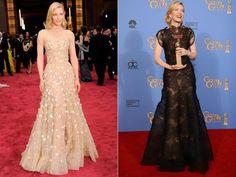 Los mejor vestidos de 2014 según Vanity Fair (© Chris Pizzello/Invision/AP & Jordan Strauss/Invision/AP)