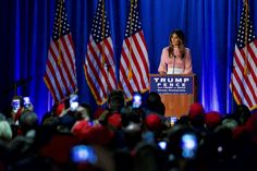 She cares about bullying. On November 3, Melania Trump gave her first solo campaign speech for her husband in Berwyn, Pennsylvania, saying she would work to combat bullying as first lady. 'Our culture has gotten too mean and too rough, especially to children and teenagers,' she said, noting that kids are often hurt when they are 'made to feel less in looks or intelligence.'   via @AOL_Lifestyle Read more…