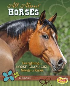 Text and photos introduce readers to general information about horses, including physical characteristics, historical origin, life cycle, body language, and horses in pop culture.