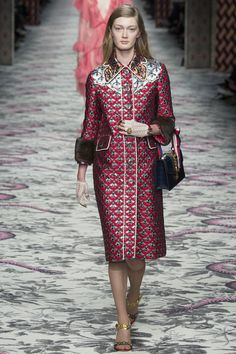 Gucci, Look 28 #gucci #fashion #mfw