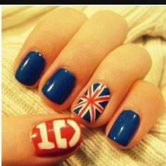 1D nagels hahaahhaha