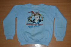 Vintage 1983 THE A TEAM movie television series promo sweater T-shirt by OldSchoolZone on Etsy