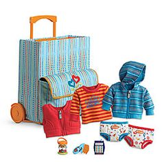 American Girl® Accessories: Bitty Twins Starter Set without Dolls