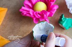 Velikonoční dekorace: veselé velikonoční tvoření | Kreativní Techniky Ice Cream, Desserts, No Churn Ice Cream, Tailgate Desserts, Deserts, Icecream Craft, Postres, Dessert, Ice